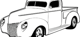 272x125 Old Car Clip Art Free Vector In Open Office Drawing Svg ( Svg