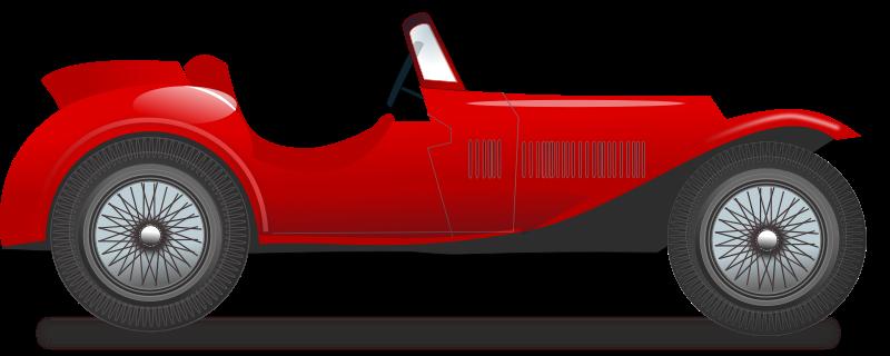800x320 Classic Cars Clip Art Download