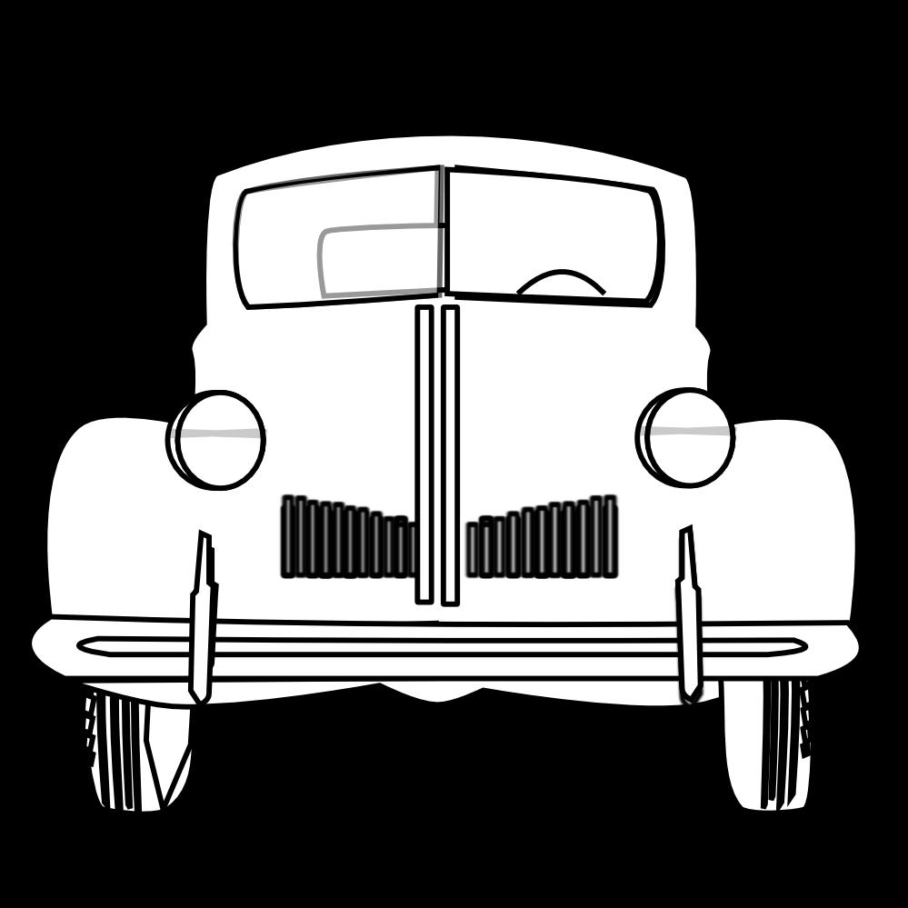 999x999 Classic Cars Cliparts 191561