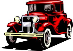 300x211 Classic Cars Clipart