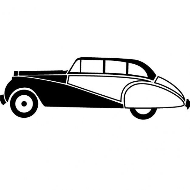 626x626 Retro Car Vector Clip Art Vector Free Download