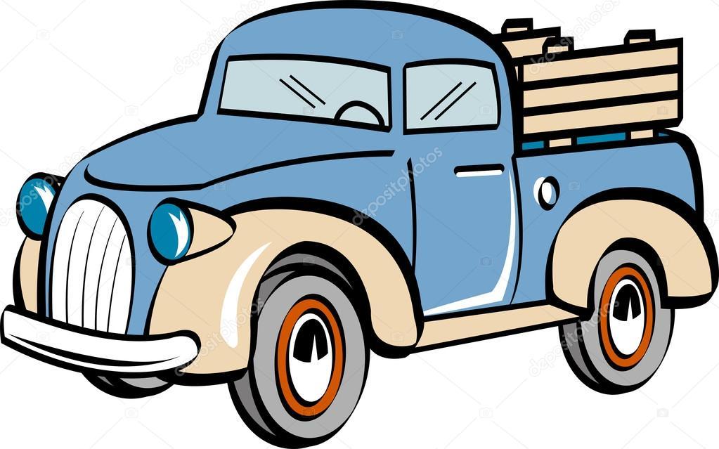 1023x639 Truck Clip Art Stock Vector Clipartguy