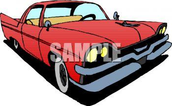 350x217 Antique Car Clip Art