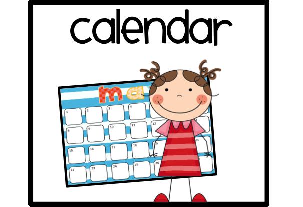 605x414 Date Clipart Classroom Calendar