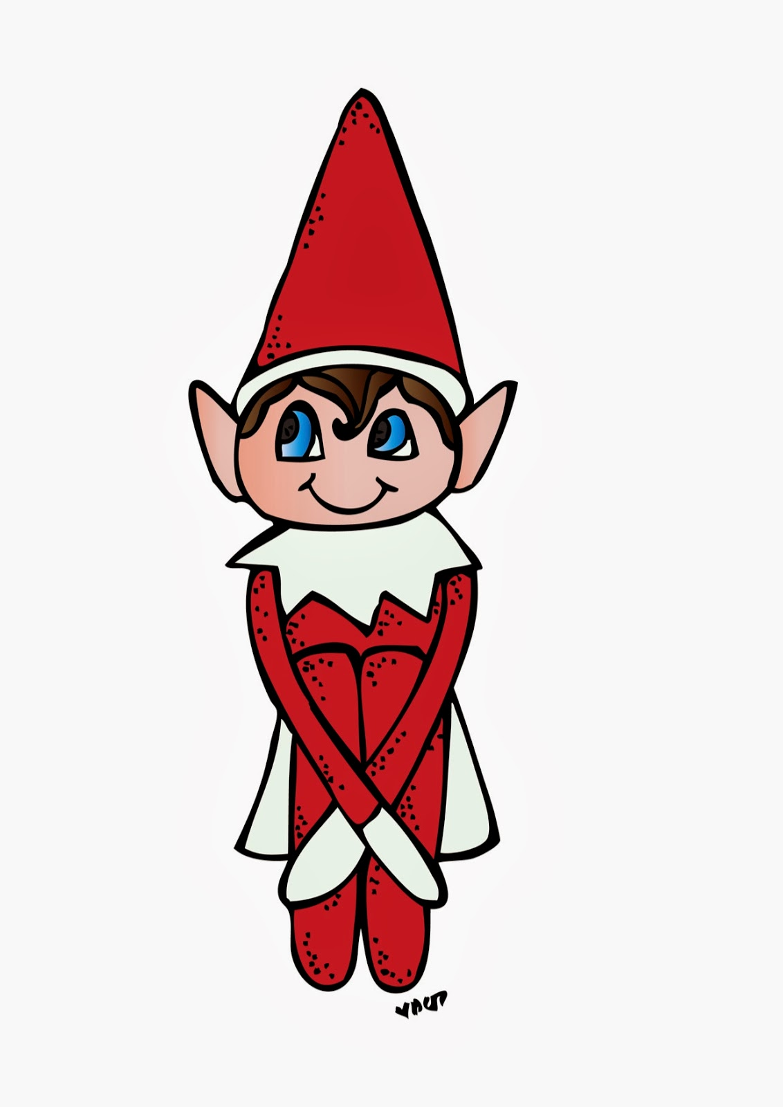 1132x1600 Elf On The Shelf Clipart