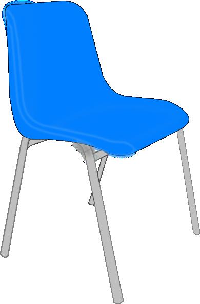 390x594 Classroom Blue Chair Clip Art