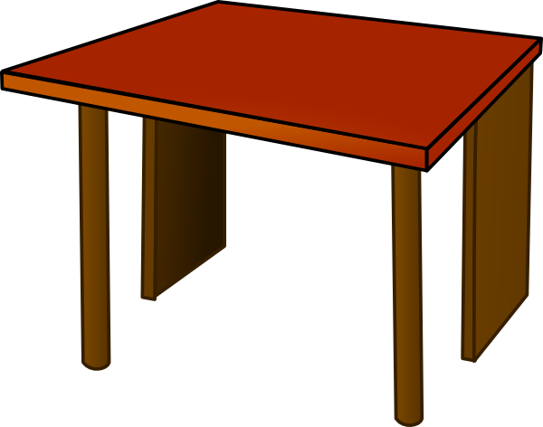 600x472 Desk Clipart Transparent