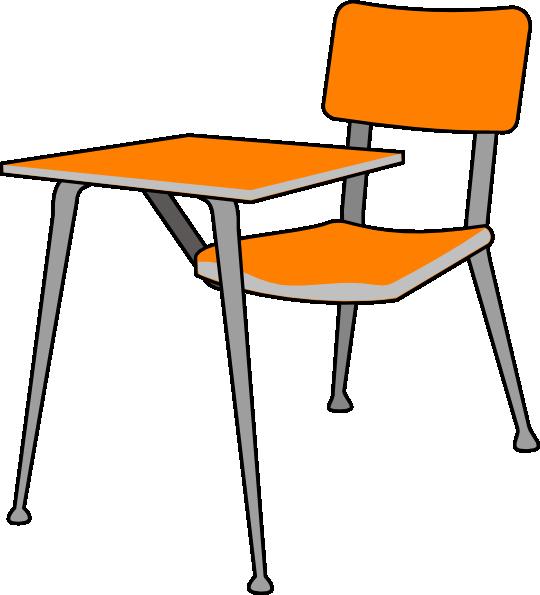 540x595 Student Desk Clip Art