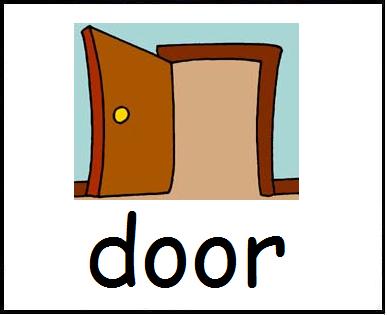 387x315 Door Clipart Classroom Objects
