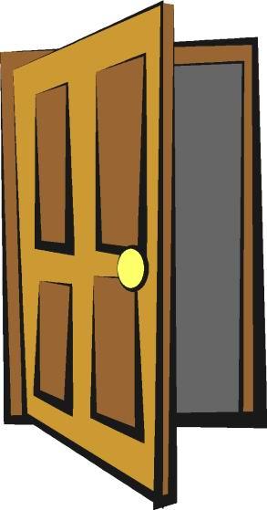 293x559 Open Door Clipart Cartoon