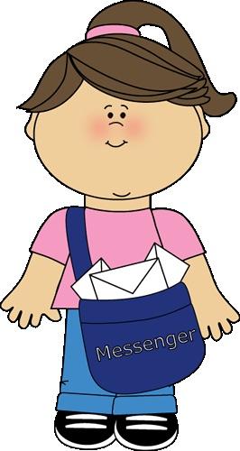 266x500 Classroom Helper Clipart Messenger