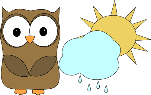 500x316 Owl Classroom Weather Helper Clip Art