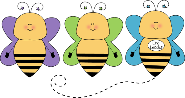600x319 Bee Line Leader Clip Art