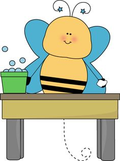 236x316 Bee Door Holder Classroom Job Clip Art Door