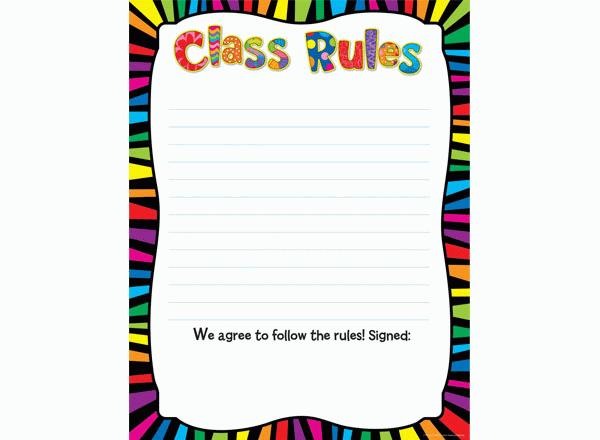 600x440 Best Classroom Rules Clipart