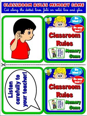 300x400 Classroom Rules