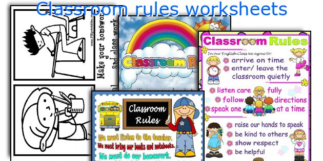 630x315 English Teaching Worksheets Classroom Rules