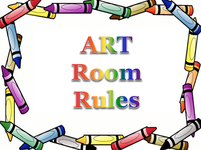 656x489 The Smartteacher Resource Art Room Rules Powerpoint