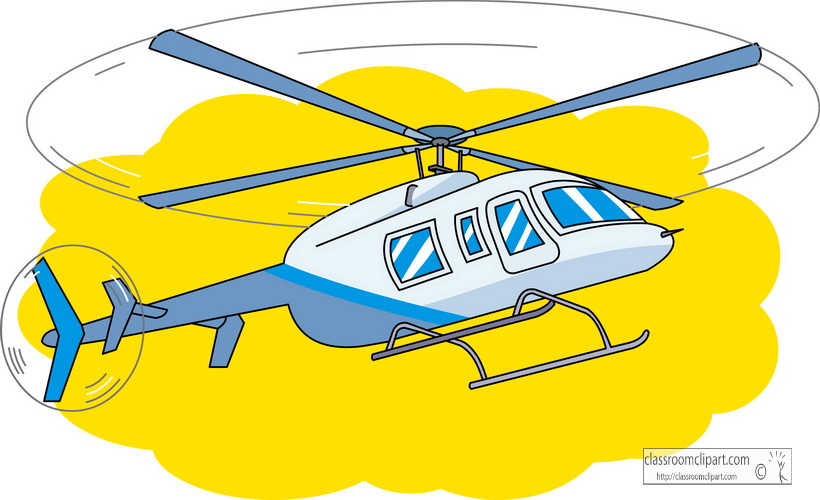 820x500 Clip Art Transportation Helicopter Clipart