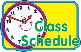 280x180 Course Clipart Daily Schedule