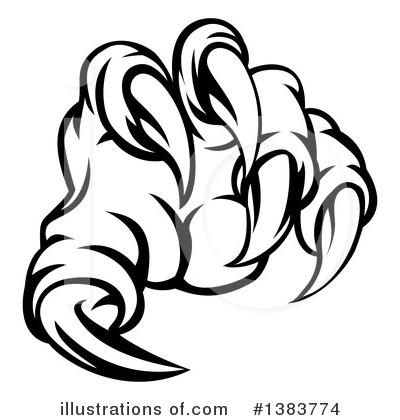 400x420 Claws Clipart