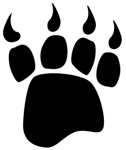 414x493 Bear Claw Bear Paw Clip Art