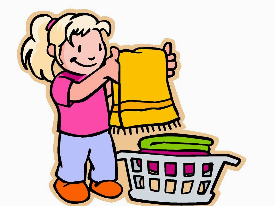 960x720 Clipart Child Cleaning Room