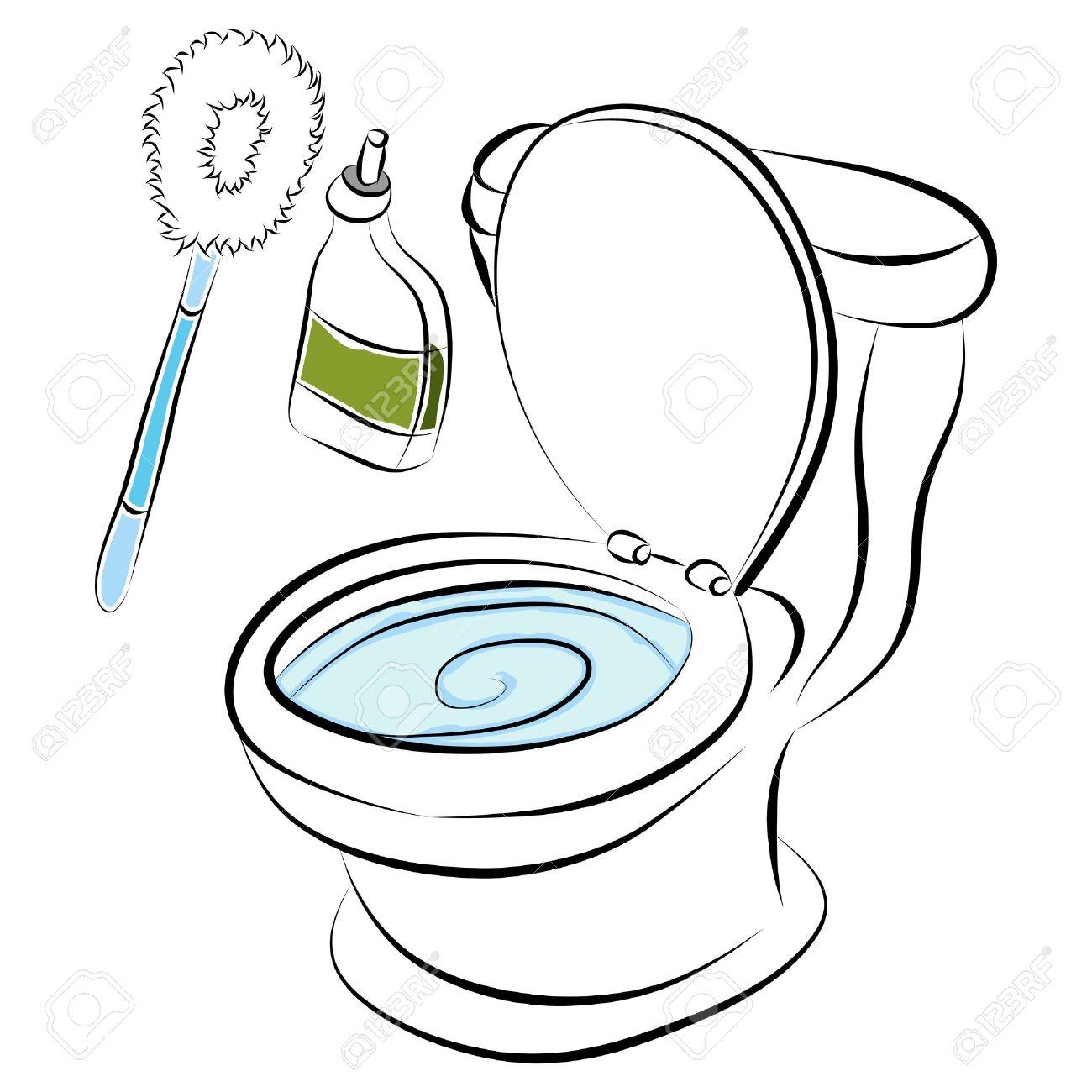 Clean Bathroom Clipart | Free download best Clean Bathroom Clipart ...