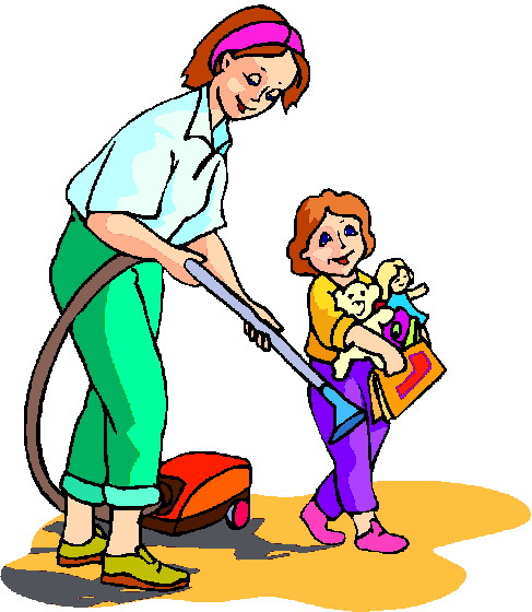 487x560 Child Clipart Cleaning Room