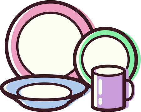 Clean Dishes Clipart | Free download best Clean Dishes ...