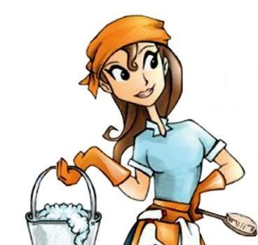 368x349 Cleaning Lady Clipart Cleaning Lady Cartoon Free Download Clip Art