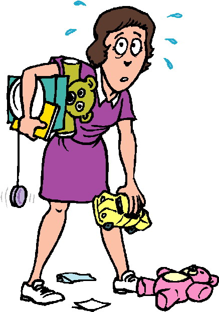 437x624 House Cleaning Clipart