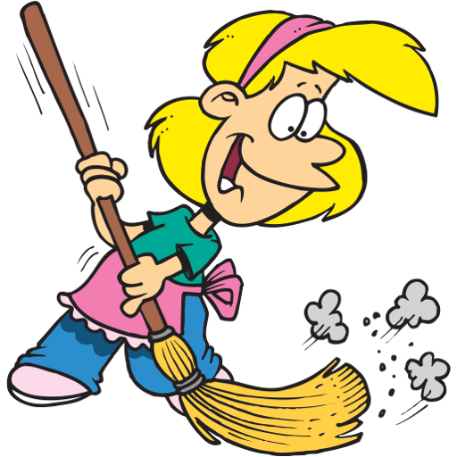 512x512 House Cleaning List Clip Art Cliparts