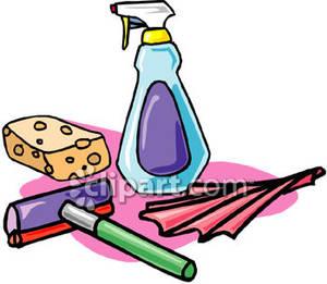 300x261 Clean Kitchen Clipart