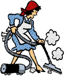 Cleaning Lady Clipart