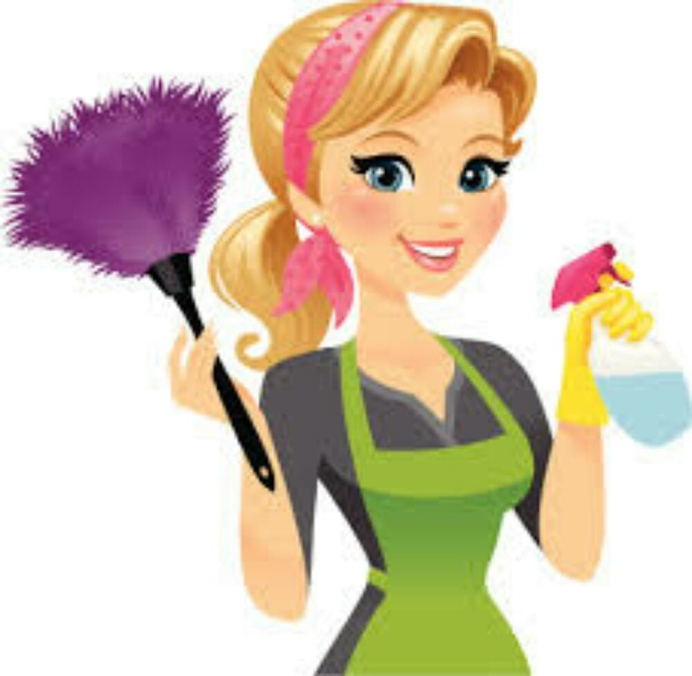 Cleaning Lady Clipart Free Download Best Cleaning Lady Clipart On