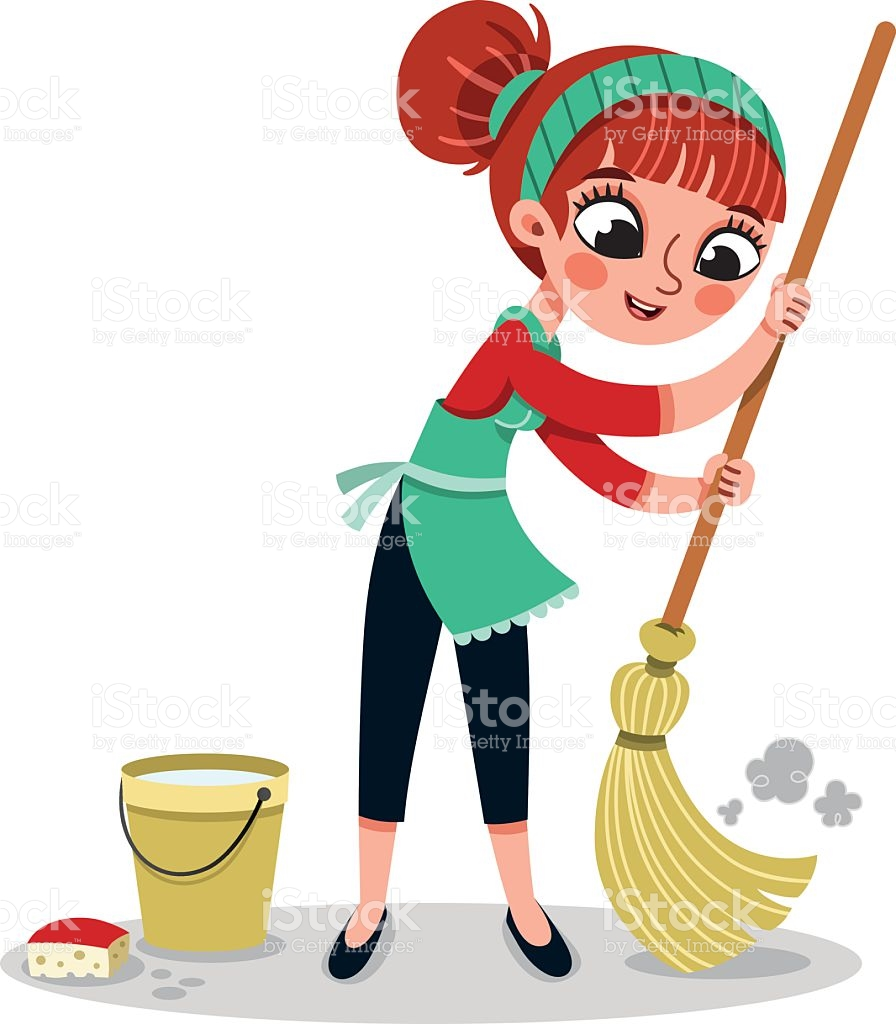 896x1024 Woman Cleaning Clipart, Explore Pictures