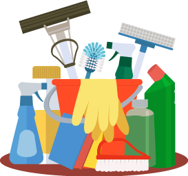 clipart cleaning supplies janitor housekeeping transparent background service cleaner equipment janitorial supply services clip thank maid commercial bathroom staff donation