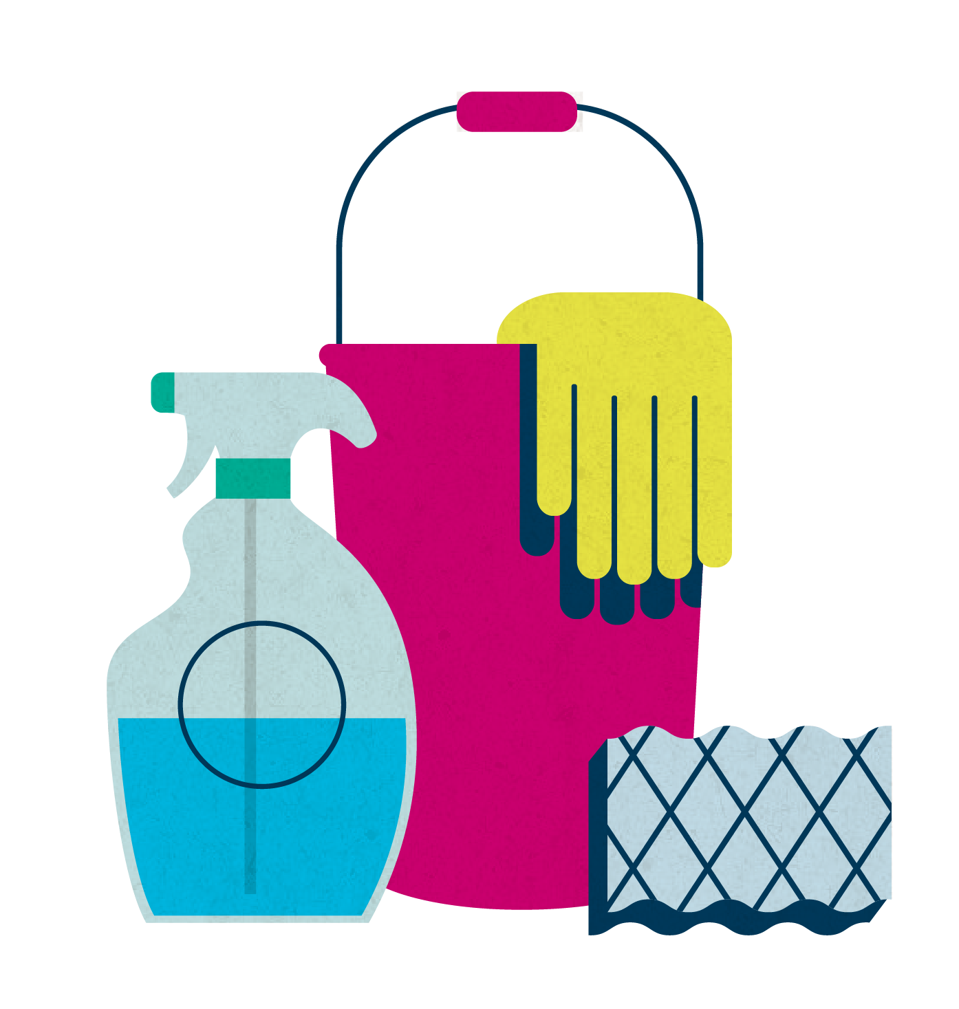 1394x1467 Janitorial Supplies Clipart Collection