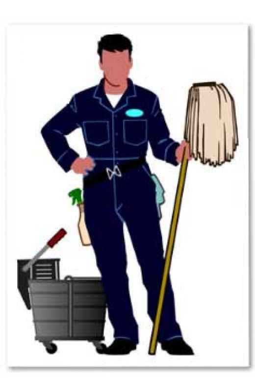 520x771 Man Clipart Cleaning House