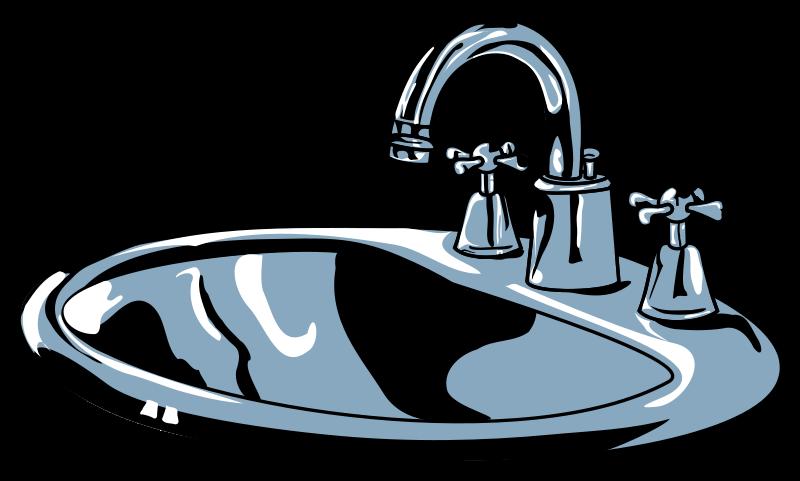 800x481 Clip Art Bathroom Sink Clipart