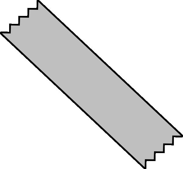 600x552 Gray Duct Tape Clip Art
