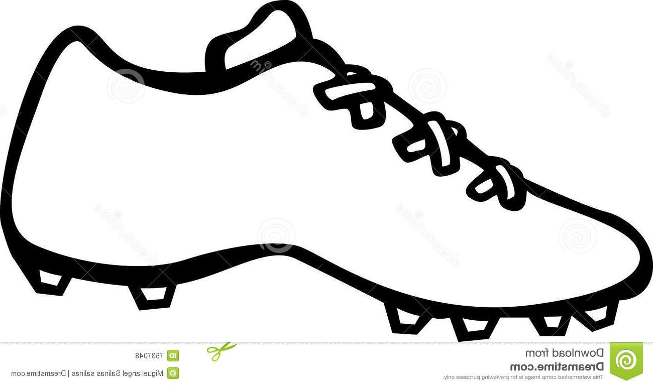 1300x771 Top 10 Sport Shoe Cleats Vector Illustration File Free