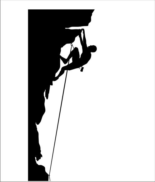 496x582 Rock Climbing Wall Clip Art Cliparts