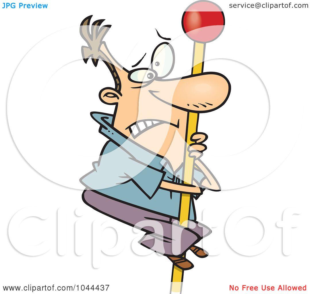 1080x1024 Royalty Free (Rf) Clip Art Illustration Of A Cartoon Man Climbing