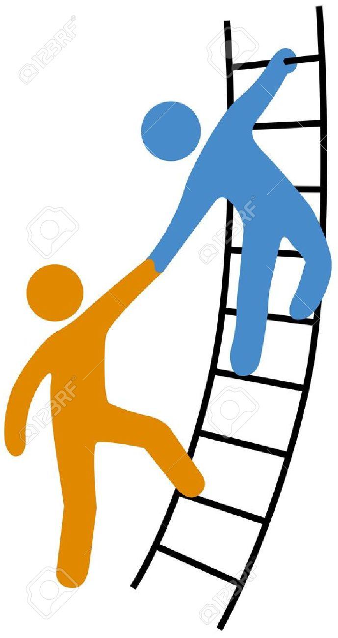 689x1300 Wall Clipart Climbing Ladder