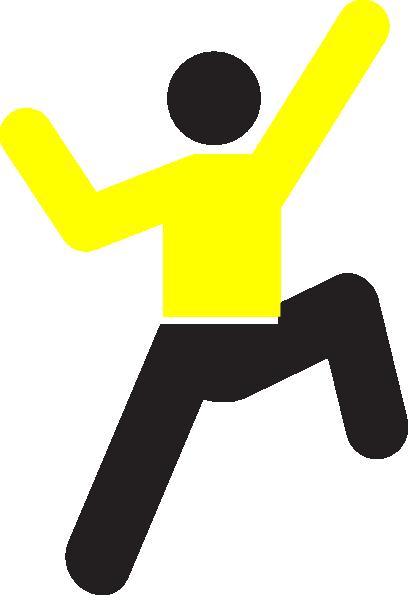 408x595 Yellow Climb Clip Art