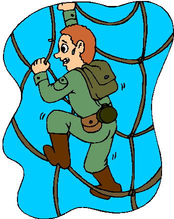 349x439 Climbing Clipart