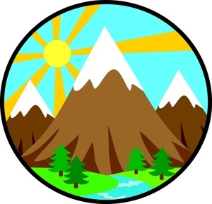 300x289 Mountain Town Clip Art Cliparts