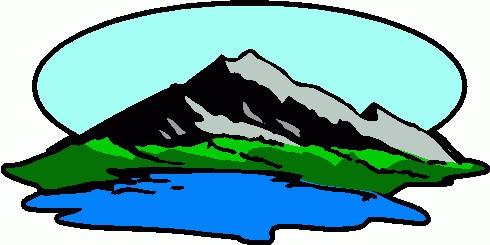 490x245 Mountain Clip Art